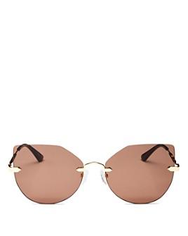 McQ Alexander McQueen - Women's Cat Eye Sunglasses, 59mm