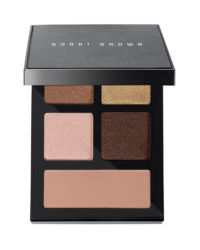 Bobbi Brown The Essential Multicolor Eye Shadow Palette In Burnished Bronze