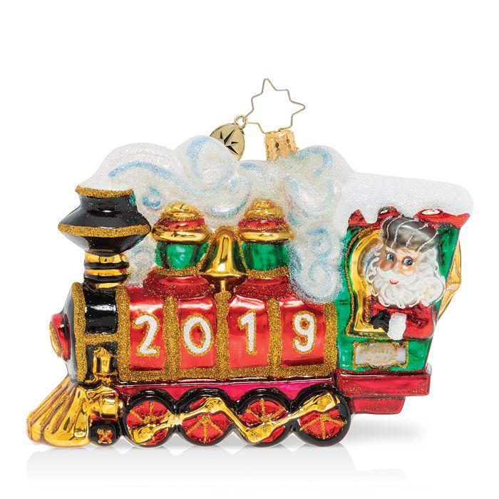 Christopher Radko - All Aboard! 2019 Ornament