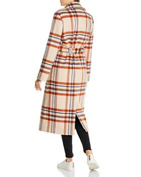 Notes du Nord - Megan Plaid Wool-Blend Coat