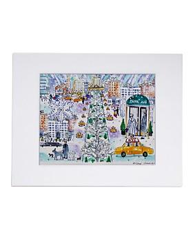 Michael Storrings - Park Avenue Winter Print