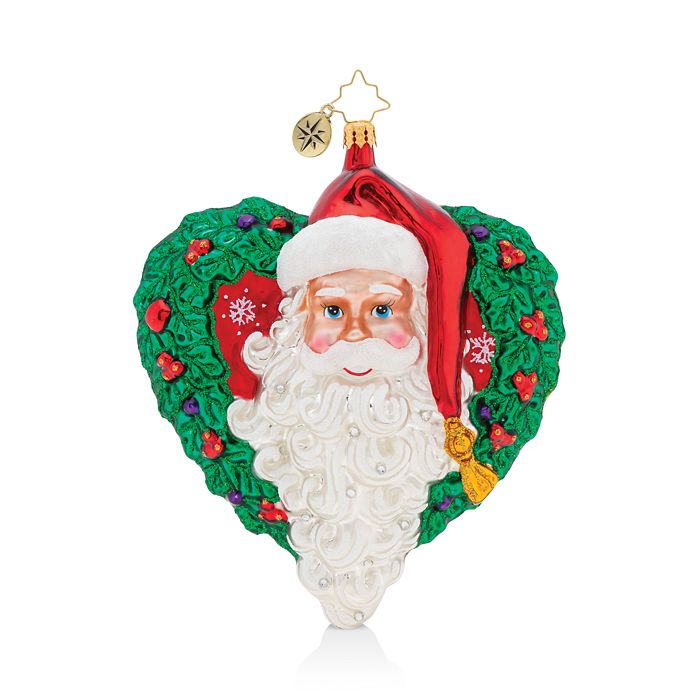 Christopher Radko - With Love From Santa Ornament