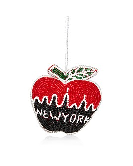 Sudha Pennathur - NYC Apple Skyline Beaded Ornament
