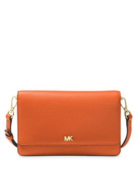 MICHAEL Michael Kors - Leather Smartphone Crossbody