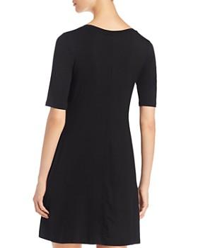 Cupio - Short-Sleeve Scoop-Neck Dress