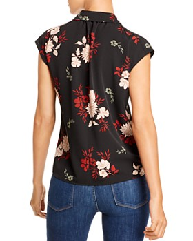 B Collection by Bobeau - Dakota Floral-Print Shirt