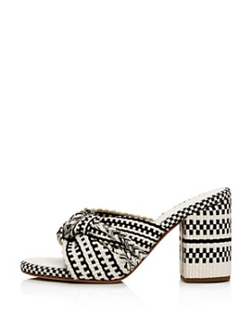 ANTOLINA - Women's Woven Block Heel Sandals