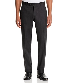 The Men's Store at Bloomingdale's - Wool Mélange Classic Fit Pants - 100% Exclusive
