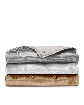 Hudson Park Collection - Velvet Throw - 100% Exclusive