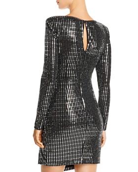 AQUA - Sequined Hologram Dress - 100 Exclusive
