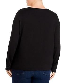 Eileen Fisher Plus - Long Sleeve Knit Top