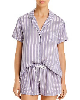 Splendid - Shortie Striped Pajama Set