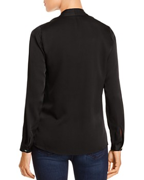 Kobi Halperin - Nellie Silk-Blend Pleated Blouse