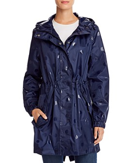 Joules - GoLightly Packable Gloss Spot Raincoat
