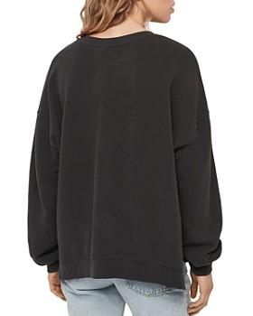 ALLSAINTS - Lo Ombré Tiger-Stripe Sweatshirt