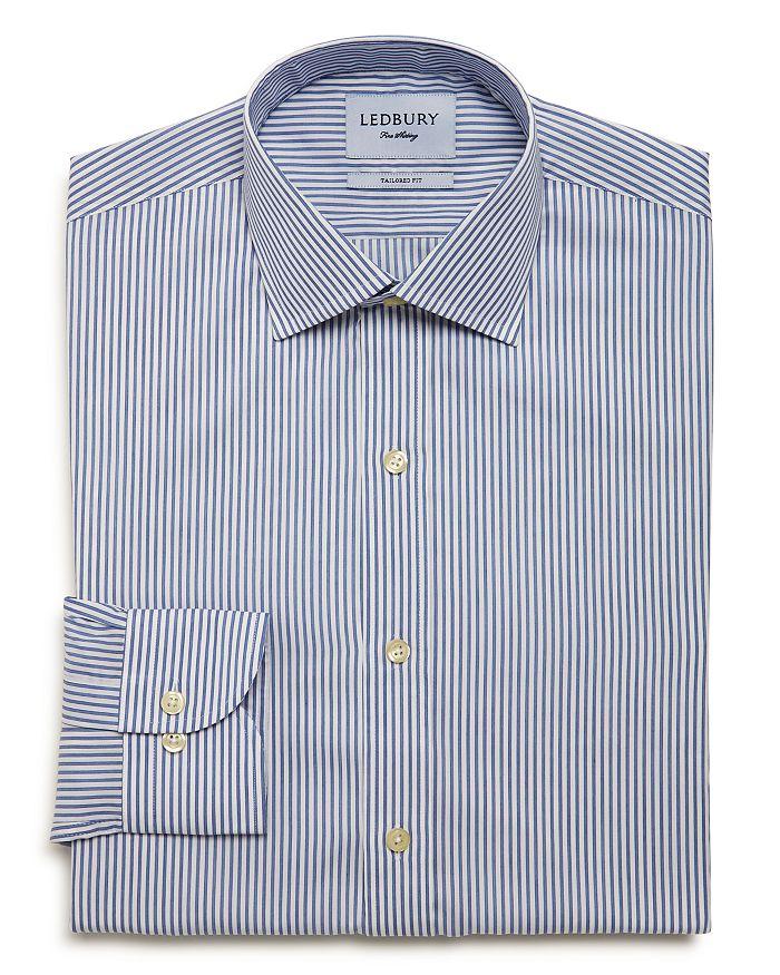 Ledbury - Anderson Stripe Slim Fit Dress Shirt