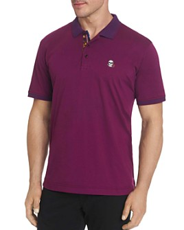 Robert Graham - Easton Skull & Rose Classic Fit Polo Shirt