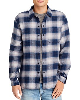 John Varvatos Star USA - Neil Reversible Regular Fit Plaid Shirt - 100% Exclusive