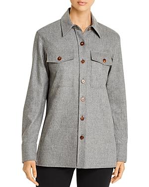 Lafayette 148 T-shirts GREYSON CASHMERE-BLEND SHIRT