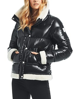 SAM. - Gigi Shearling-Trim Down Jacket - 100% Exclusive
