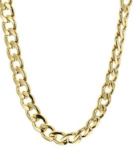 "AQUA - Chain Link Necklace, 17"" - 100% Exclusive"