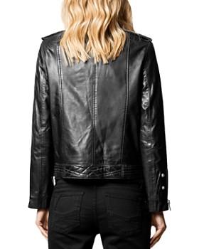 Zadig & Voltaire - Leather Moto Jacket