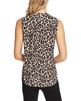 VINCE CAMUTO - Leopard Print Top