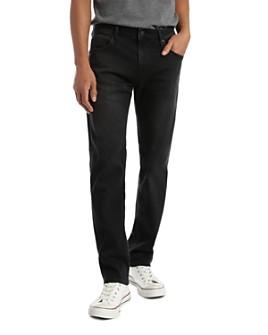 Mavi - Zach Straight Fit Jeans in Smoke Supermove
