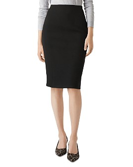 HOBBS LONDON - Anne Piqué Pencil Skirt