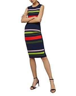 Ted Baker - Ysina Striped Bodycon Dress