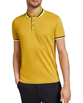 Ted Baker - Kazza Stripe Trim Regular Fit Polo Shirt