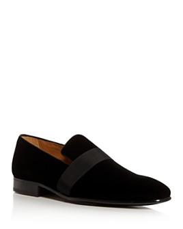 PASTORI - Men's Galba Velvet Loafers