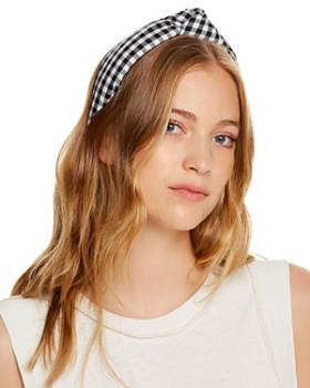 Lele Sadoughi - Gingham Knotted Headband