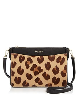 kate spade new york - Margaux Medium Leopard-Print Crossbody