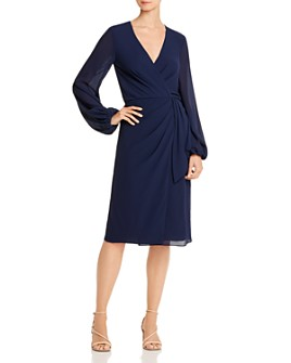 Jay Godfrey - Sirio Wrap-Front Dress