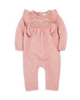 Miniclasix - Girls' Ruffled Lace Coverall - Baby