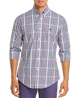 Brooks Brothers - Pin Point Check-Print Classic Fit Button-Down Shirt