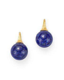 Marco Bicego - 18K Yellow Gold Africa Lapis Lazuli Drop Earrings