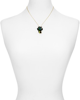 "kate spade new york - Floral Mini Pendant Necklace, 17"""