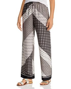 Calvin Klein - Printed Wide-Leg Pants