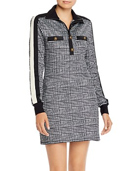 PAM & GELA - Glen Plaid Track Dress