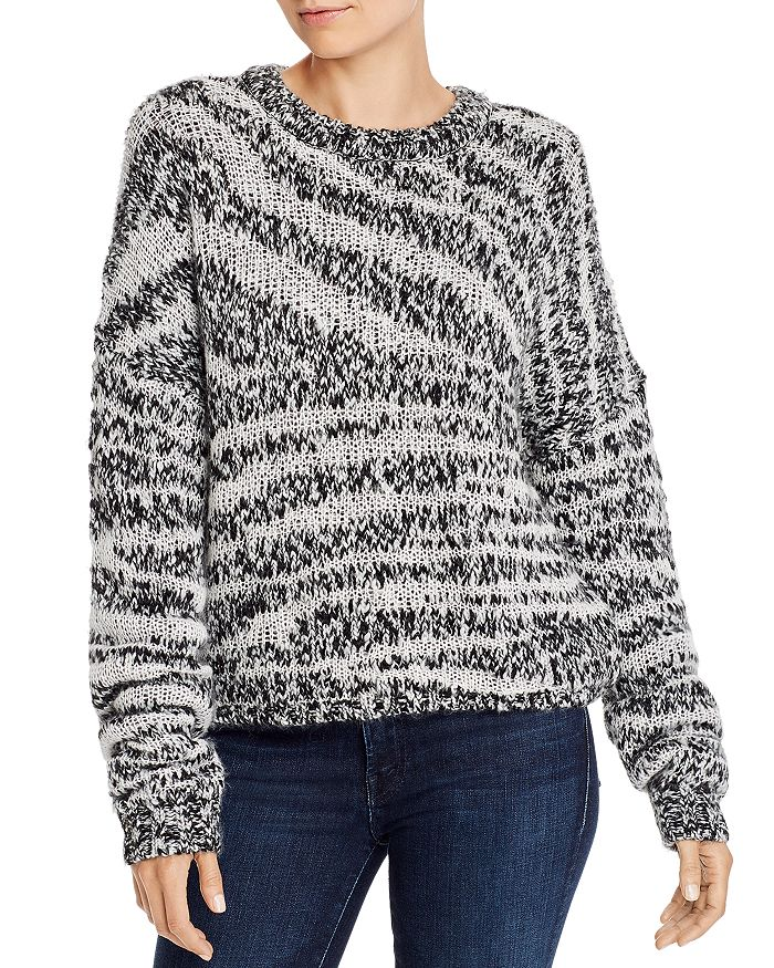 Current/Elliott - The Cybill Zebra-Stripe Sweater