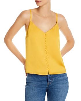 AQUA - Button-Front Camisole - 100% Exclusive