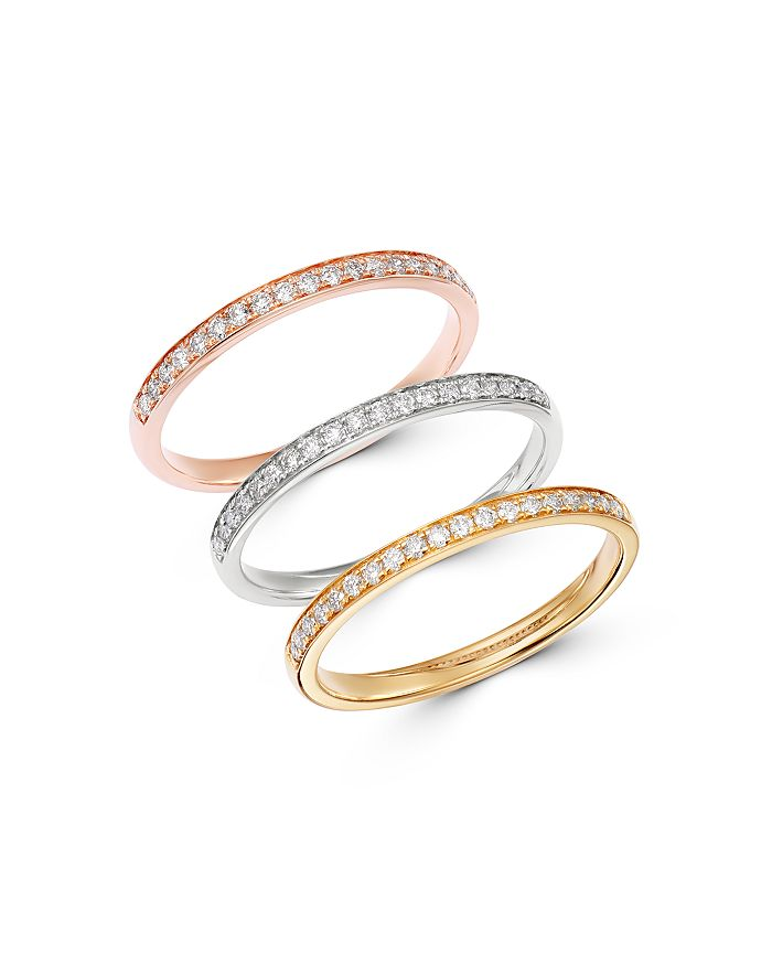 Bloomingdale's - Diamond Stacking Band in 14K Gold - 100% Exclusive