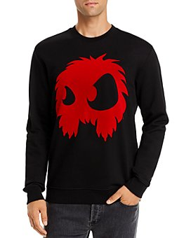 McQ Alexander McQueen - Chester Graphic Appliqué Sweatshirt