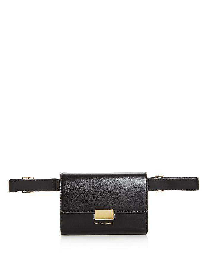 WANT Les Essentiels - Corzo Leather Convertible Belt Bag
