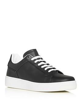 Bottega Veneta - Men's Leather Low-Top Sneakers