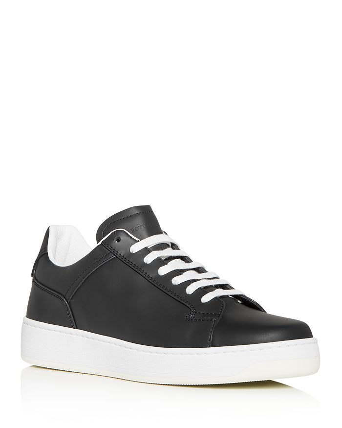 Bottega Veneta - Men's Leather Low-Top Sneakers