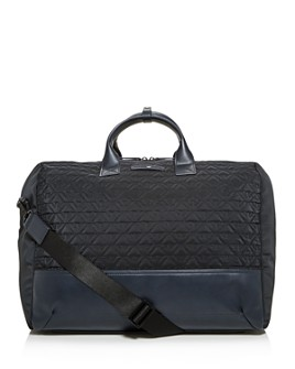 Armani - Logo-Quilted Duffel Bag