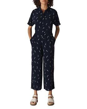Whistles - Short-Sleeve Printed Jumpsuit